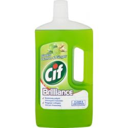 Cif Brilliance Green Lemon & Ginger Uniwersalny płyn do czyszczenia 1 l
