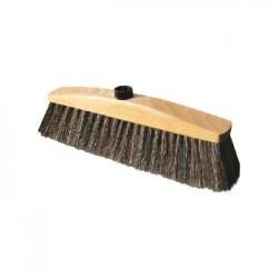 Miotła z naturalnym włosiem 30cm York