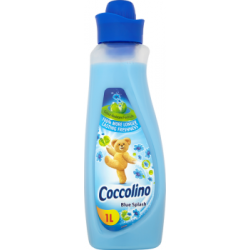 Coccolino Blue Splash Płyn do płukania tkanin koncentrat 1 l