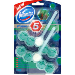 Domestos Power 5 Pine Kostka toaletowa 2 x 55 g