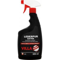 Villa Lederpur Extra Dwufazowy preparat do czyszczenia naturalnej skóry 650 ml