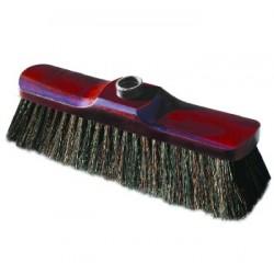 Miotła z naturalnym włosiem 28cm LUX York