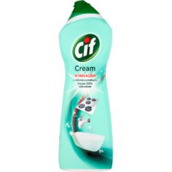 Cif Cream z wybielaczem z mikrokryształkami Mleczko do czyszczenia powierzchni 1001 g