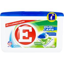 E Duo-Caps White Kapsułki do prania 374 g (17 sztuk)