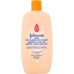 Johnson's Baby Bąbelkowy płyn do kąpieli i mycia ciała 2w1 500 ml