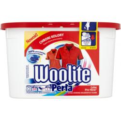 Woolite Perła Color Pro-New Żelowe kapsułki do prania kolorowych tkanin 266 ml (14 sztuk)