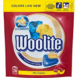Woolite Mix Colors Kapsułki do prania 616 g (28 sztuk)