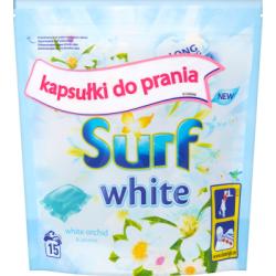 Surf White White Orchid & Jasmine Kapsułki do prania 394 g (15 prań)