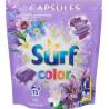 Surf Color Iris & Spring Rose Kapsułki do prania 394 g (15 sztuk)