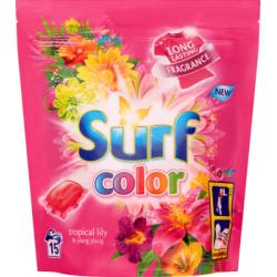 Surf Color Tropical Lily & Ylang Ylang Kapsułki do prania 394 g (15 sztuk)