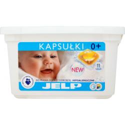 JELP Hipoalergiczne kapsułki do prania odzieży dziecięcej 264 g (11 sztuk)