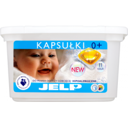 JELP Hipoalergiczne kapsułki do prania odzieży dziecięcej 330 g (11 sztuk)