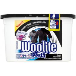 Woolite Perła Dark Pro-New Żelowe kapsułki do prania ciemnych tkanin 266 ml (14 sztuk)
