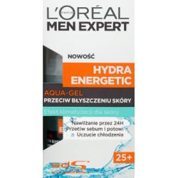 L'Oreal Paris Men Expert Hydra Energetic 25+ Aqua-gel przeciw błyszczeniu skóry 50 ml