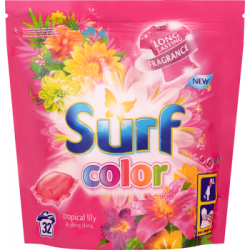 Surf Color Tropical Lily & Ylang Ylang Kapsułki do prania 841 g (32 sztuki)