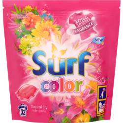 Surf Color Tropical Lily & Ylang Ylang Kapsułki do prania 841 g (32 sztuki)