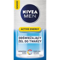 NIVEA MEN Active Energy Odświeżający żel do twarzy 50 ml