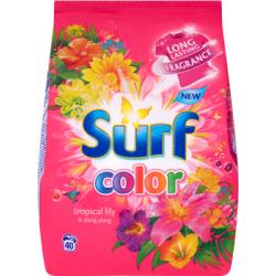 Surf Color Tropical Lily & Ylang Ylang Proszek do prania 2,8 kg (40 prań)