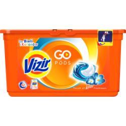 Vizir Touch of Lenor Freshness Kapsułki do prania do bieli i kolorów 42 sztuki