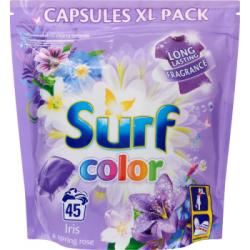 Surf Color Iris & Spring Rose Kapsułki do prania 1183 g (45 sztuk)