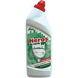Płyn do urządzeń sanitarnych WC Heros zielony 750 g