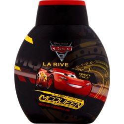 LA RIVE Lightning Mcqueen Szampon i płyn do kąpieli 2 w 1 dla dzieci powyżej 3. roku życia 250 ml