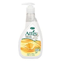 Attis creamy 400ml mydło w płynie /mleko i miód/