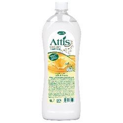 Attis creamy 1,0l mydło w płynie mleko i miód /zapas/