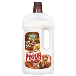 Floor 1,0l mleczko do pielęgnacji i nabłyszczania podłóg z naturalnym woskiem