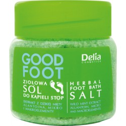 Delia Cosmetics Good Foot Ziołowa sól do kąpieli stóp 570 g