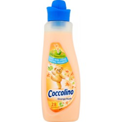 Coccolino Orange Rush Płyn do płukania tkanin koncentrat 1 l (28 prań)