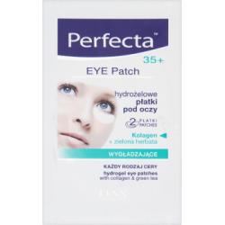 Perfecta Eye Patch 35+ Hydrożelowe płatki pod oczy wygładzające 2 sztuki