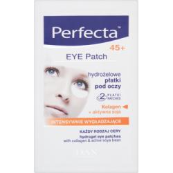 Perfecta Eye Patch 45+ Hydrożelowe płatki pod oczy intensywnie wygładzające 2 sztuki