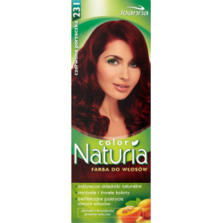 Joanna Naturia Color Farba do włosów 231 czerwona porzeczka