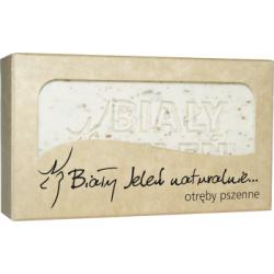 Biały Jeleń Hipoalergiczne mydło naturalne z otrębami 100 g