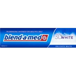 Blend-A-Med 3D White Delicate White Wybielająca pasta do zębów 100 ml