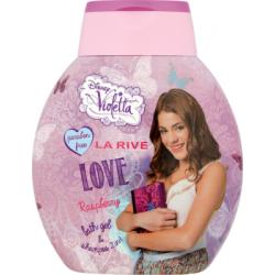LA RIVE Disney Violetta Love 2 w 1 Łagodny szampon i płyn do kąpieli dla dzieci 250 ml