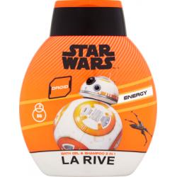 La Rive Star Wars Droid Energy Łagodny szampon i płyn do kąpieli 2 w 1 250 ml