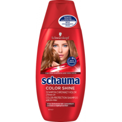 Schauma Color Shine Szampon chroniący kolor z filtrem UV 250 ml
