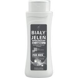 Biały Jeleń for Men Hipoalergiczny żel & szampon 2 w 1 minerały 300 ml