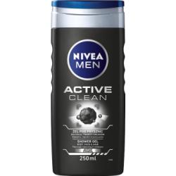 NIVEA MEN Active Clean Żel pod prysznic 250 ml