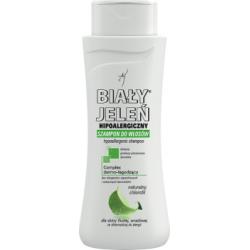 Biały Jeleń Hipoalergiczny szampon do włosów naturalny chlorofil 300 ml