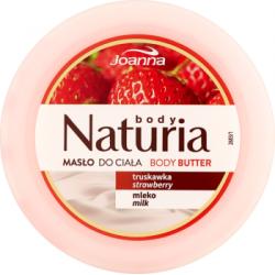 Joanna Naturia body Masło do ciała truskawka mleko 250 g