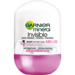Garnier Mineral Invisible Antyperspirant w kulce bez alkoholu 50 ml