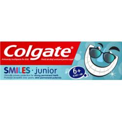 Colgate Smiles Junior Przeciwpróchnicza pasta do zębów dla dzieci 6+ lat 50 ml