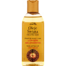 Joanna Oleje Świata Olejek do twarzy i ciała z olejem arganowym 100 ml