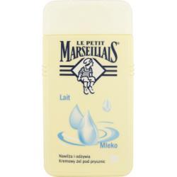 Le Petit Marseillais Mleko Kremowy żel pod prysznic 250 ml