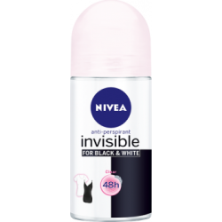 NIVEA Invisible for Black and White Clear 48 h Antyperspirant w kulce dla kobiet 50 ml
