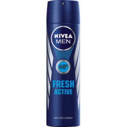 NIVEA MEN Fresh Active 48 h Antyperspirant w aerozolu 150 ml