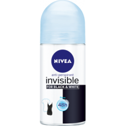NIVEA Invisible for Black and White Pure 48 h Antyperspirant w kulce dla kobiet 50 ml